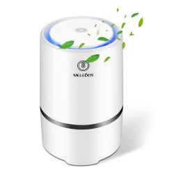 toptopdeal MELEDEN Air Purifier for Home with Filters, 2020 Upgraded Design Low Noise Air Purifiers,Desktop Air Cleaner