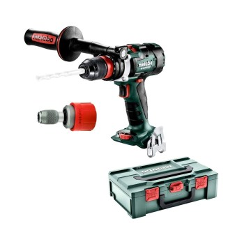 toptopdeal-Metabo BS 18 LTX-3 BL Q I Black,Green,Red Pistol Grip Drill 2100g - Cordless Combi Drills