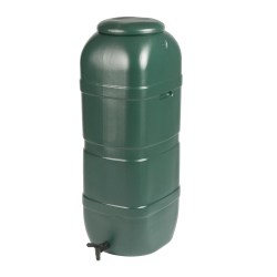 toptopdeal Strata Products Ltd GN334 Ward 100L Slimline Water Butt including Tap and Lockable Lid - Green