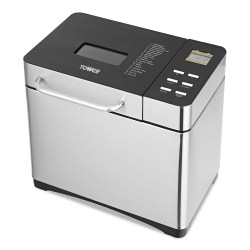 toptopdeal Tower T11005 Digital Bread Maker with Adjustable Crust Control