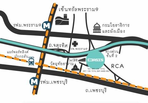 Map Oasia market