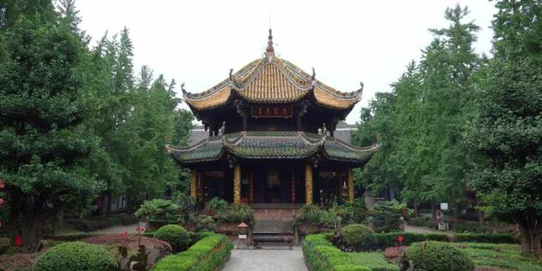 Qingyang Temple, Chengdu, China
