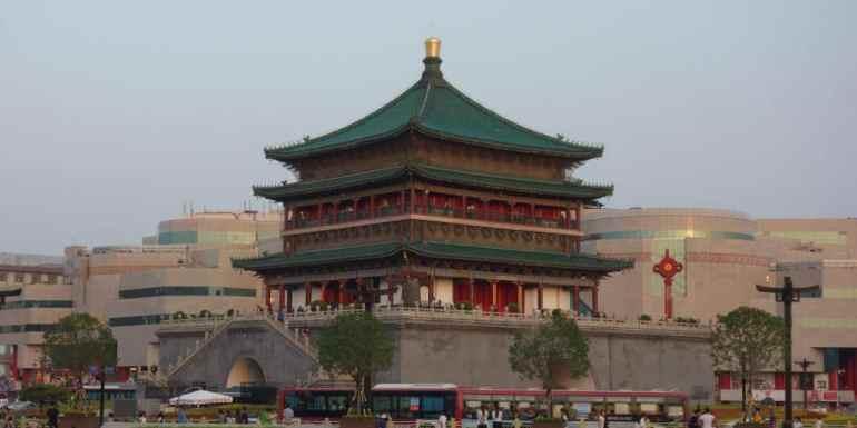 Bell Tower, Xian, China