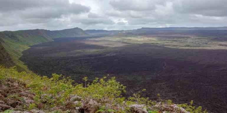 Sierra Negra Volcano, Isabela Island, Galapagos, Ecuador