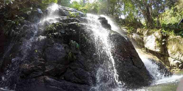 Marinka Falls near Minca, Colombia