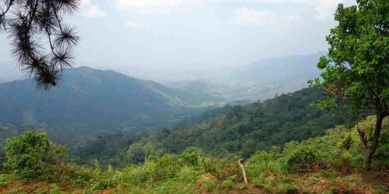Los Pinos viewpoint near Minca, Colombia
