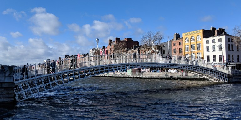 Ha Penny Bridge, Dublin