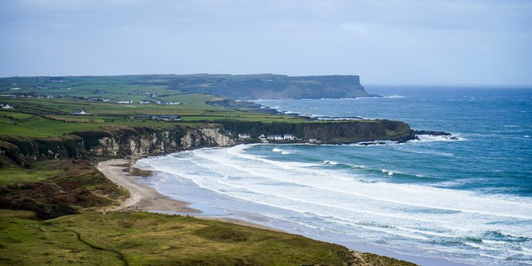 White Park Bay in Northern Ireland