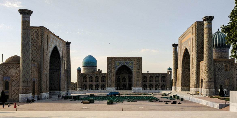 Registan of Samarkand, Uzbekistan