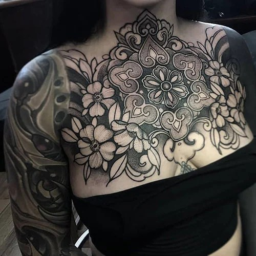 Awesome Flower Tattoo Designs