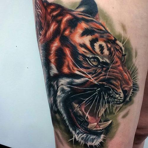 Best Thigh Tattoo Design Ideas
