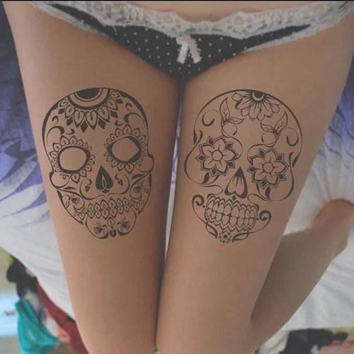 Upper Thigh Tattoo Ideas