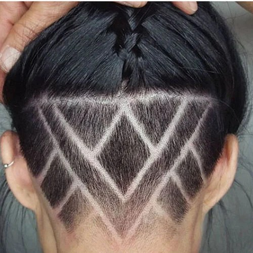 Shaved Bob Haircut
