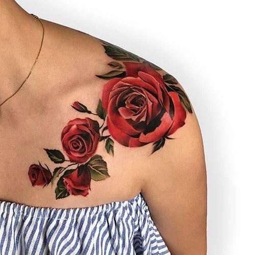 Big Rose Tattoo