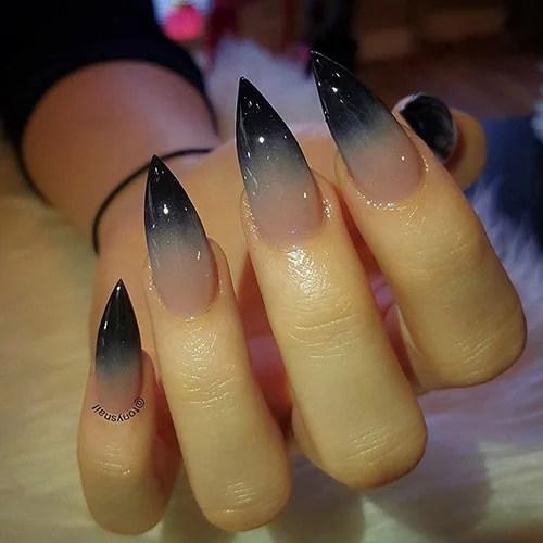 Ombre Nails Stiletto