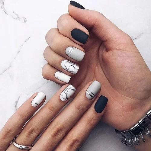 Cute Matte Nail Designs