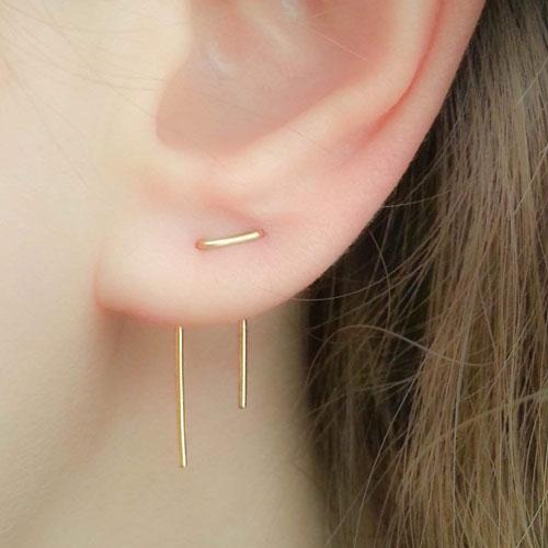 Best Double Ear Lobe Piercing