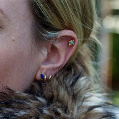 Upper Ear Piercing