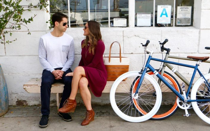 Go Bike Riding For A Cute Cheap Date