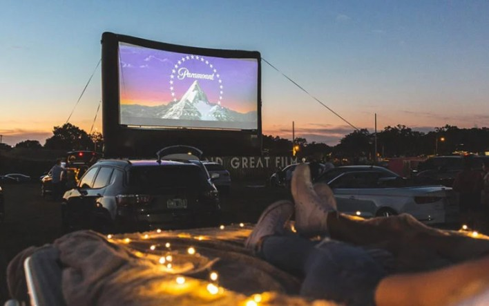 Go To A Drive-In Movie Theater