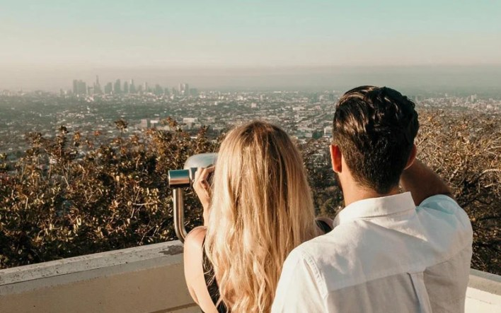 Watch The Sunset on A Cute Date For Teens