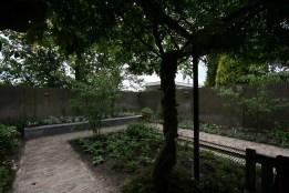 Door behoud van bestaande beplanting krijgt de tuin meteen een volgroeider aanzien...