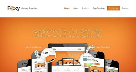 Download the Foxiest Wordpress Theme with WooCommerce! - WordPress