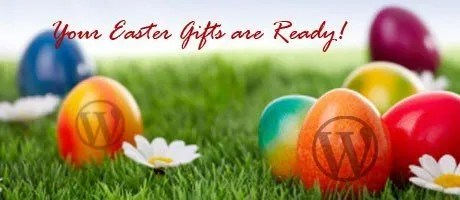 Increadible Wordpress Easter Gifts Available Only This Week - Easter Bunny
