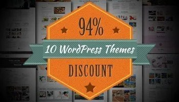 10 Responsive WordPress Themes only $39 - Save more than 90%! - Logo