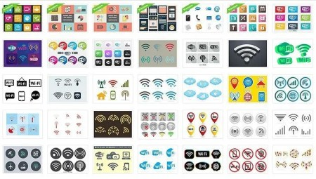The Best Collection Of Vector-Based WiFi Symbols Finally Here! -