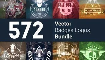 Stock Up! 572 Modern Logos & Badges For Every Client and Project -