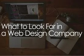 What to Look for in a Good Web Design Company -