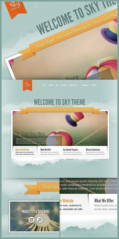 Download Sky Wordpress Theme - New ElegantTheme Masterpiece - Uncategorized