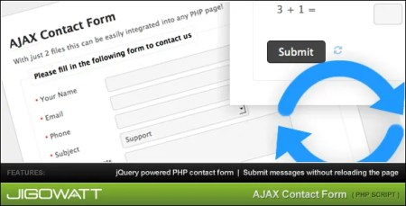 TF Bestsellers: Simple PHP and Ajax Contact Forms for Any Use - Web Development