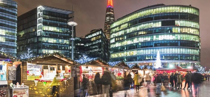 Pasar Natal Kota London Bridge