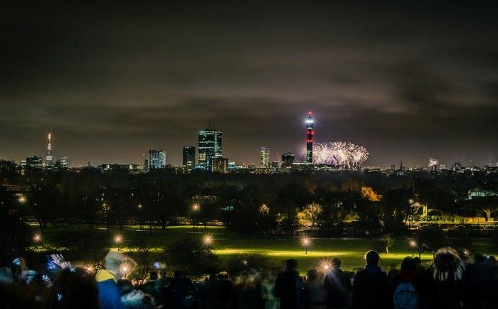 Malam Tahun Baru Primrose Hill