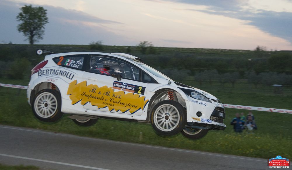 120 gli equipaggi al Benacus Rally 2021 [Departing]