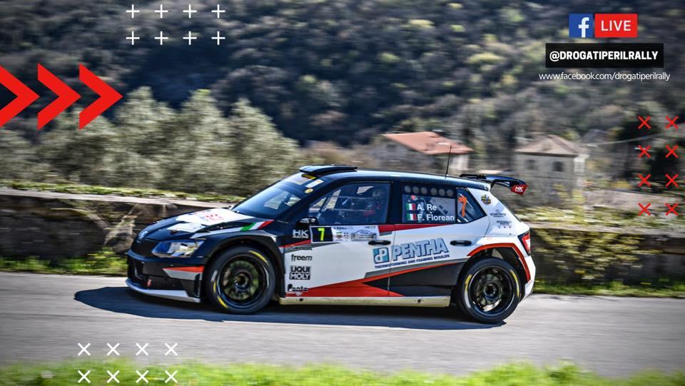 """""""DROGATI PER IL RALLY"""": appuntamento in diretta al Rally Cassino-Pico 2021"""