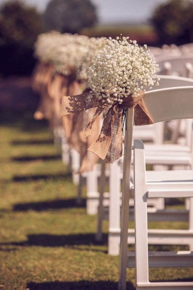 Ideas For Church Pews Wedding Decorations On With 11