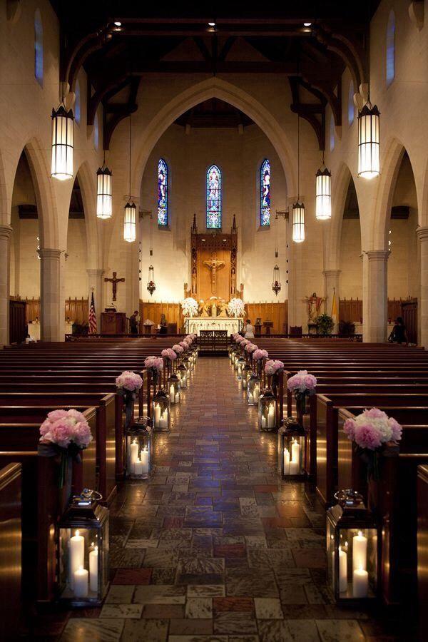 How to Decorate a Church for a Wedding | | TopWeddingSites.com