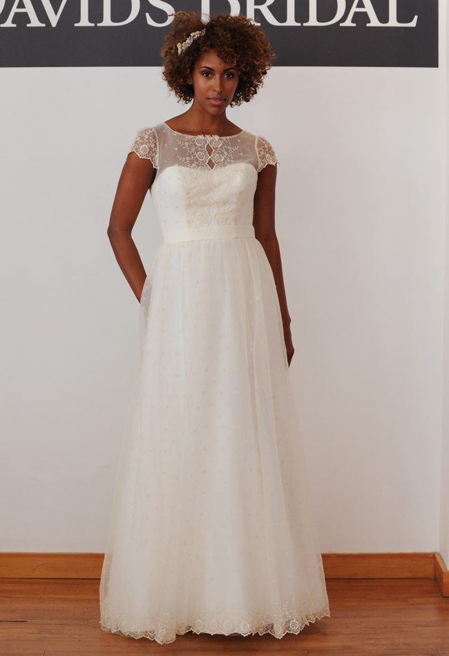 David's Bridal fall 2014 Dress Collection