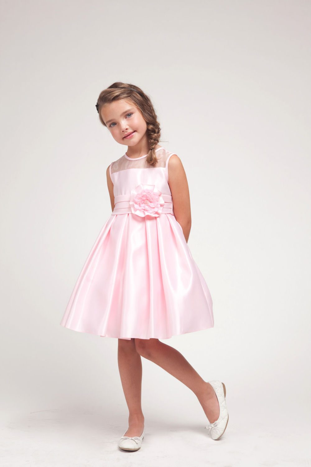 Pink Puffy Flower Girl Dresses For Your Little Pal