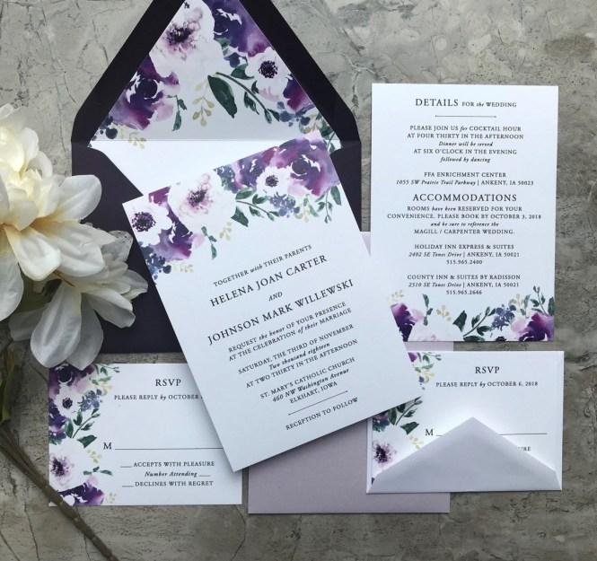 Inexpensive Wedding Invitations That