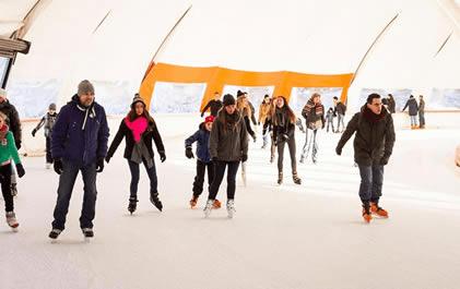Dag schaatsen op de schaatsbaan in Rotterdam. Slechts €3,95 entree!