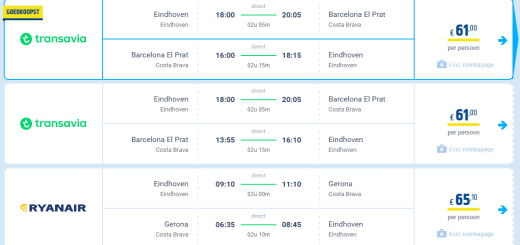 Vliegtickets Barcelona aanbieding