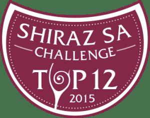 Shiraz SA Wine Challenge Bottle Sticker - TOP12