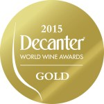 Decanter Awards - DWWA-2015-GOLD