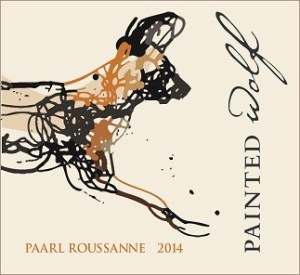 Painted Wolf Paarl Rousanne front label 2014 (smaller)