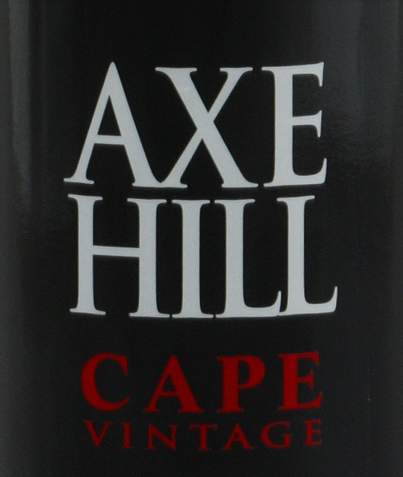 Axe Hill Cape Vintage 2013