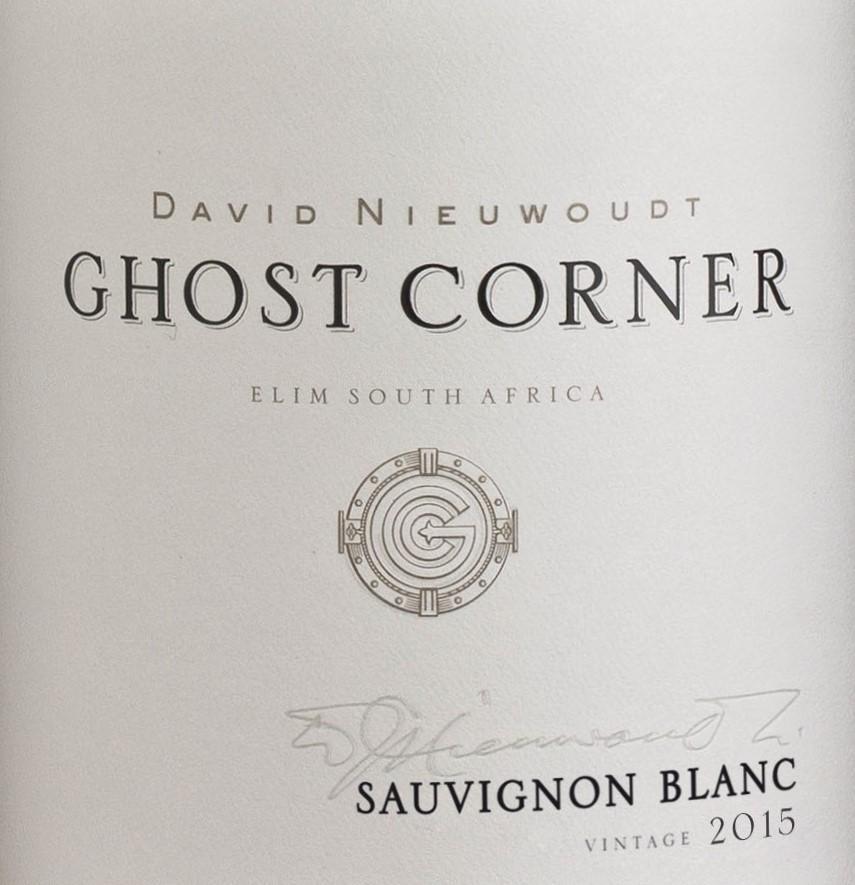 David Nieuwoudt Ghost Corner Sauvignon Blanc 2015